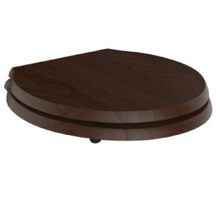 Ideal Standard - Waverley Mahogany Seat And Cover - (U0248GC)